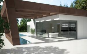La piedra natural y los porcelánicos, los aliados perfectos para la decoración en espacios exteriores